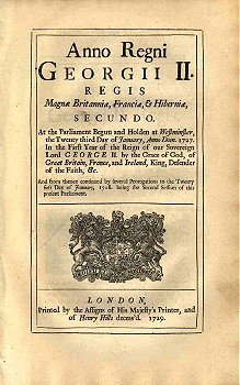 George II Act