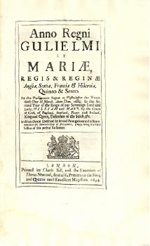 William and Mary Act