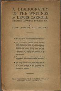 Bibliography of the Writings of Lewis Carroll