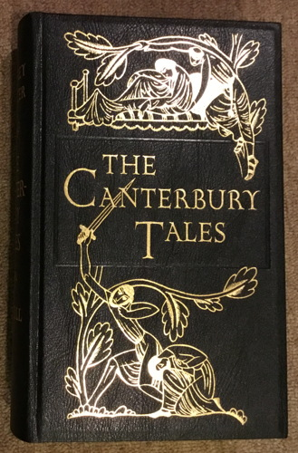 Folio Society The Canterbury Tales front cover
