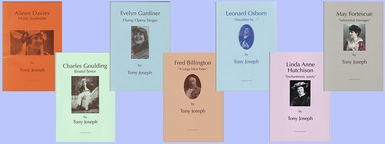 A selection of Savoyard biographies by Tony Joseph