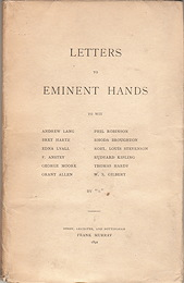 Letter to Eminent Hands