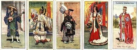 Players Cigarette Cards December 1927