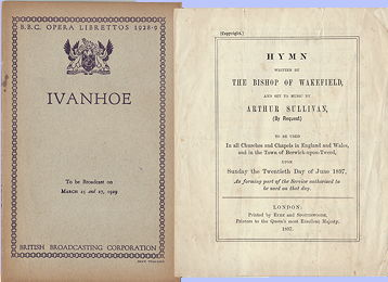 Bishop of Wakefield's Hymn and Ivanhoe