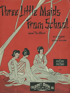 Three Little Maids from School for Ukelele