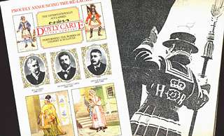 New D'Oyly Carte press releases
