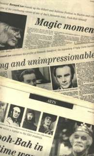 Sandford articles from 1995 Sheffield Telegraph