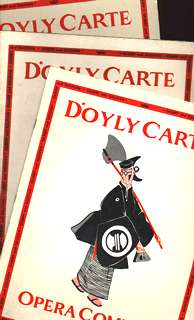 1962 D'Oyly Carte North American tour programmes