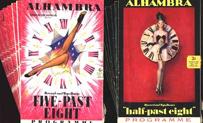Half-past Eight and Five-past Eight programmes