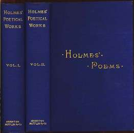 Holmes's Poetical Works
