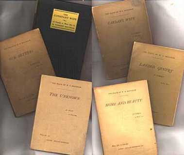 Selection of Maugham plays