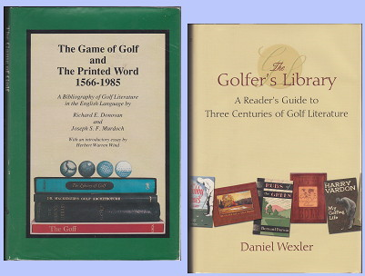 Golf and the Printed Word and The Golfer's Library