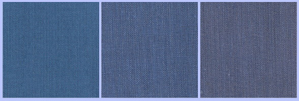 Variant blue cloths