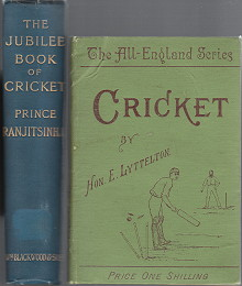 Cricket, All-England Series & Jubilee Book of Cricket
