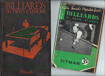 Billiards in Twelve Lessons & Billiards in Easy Stages