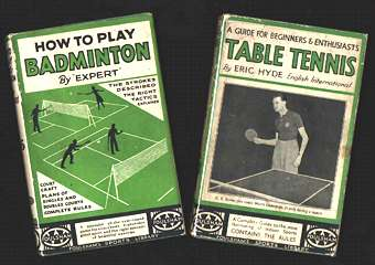 Foulsham's badminton and table tennis titles