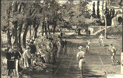 Lawn Tennis at Constantinople