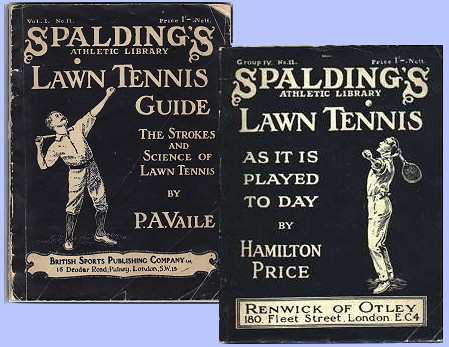 Spalding's Library Tennis Books